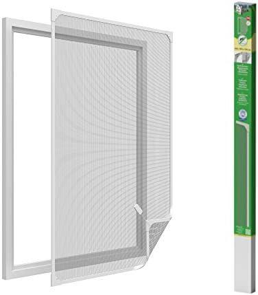 easy life Mosquitera para ventanas con cuadro magnético en PVC ...