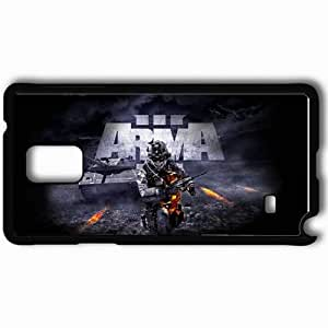 Personalized Samsung Note 4 Cell phone Case/Cover Skin Arma 3 Black