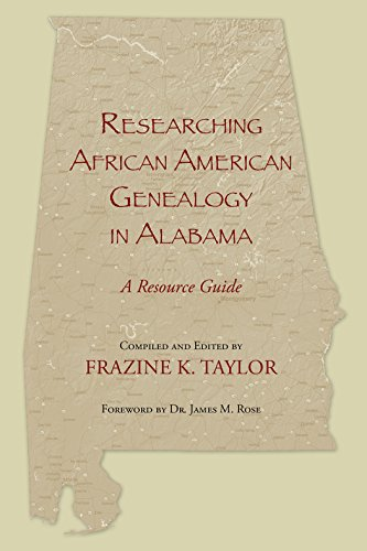 Search : Researching African American Genealogy in Alabama: A Resource Guide