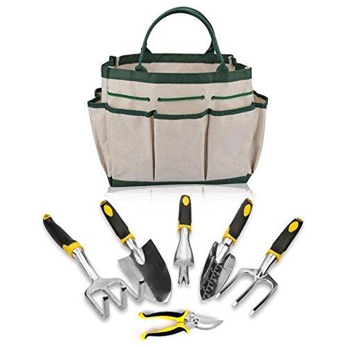 TOOGOO 6pzs / juego Juego de herramientas de jardineria para cavar ...