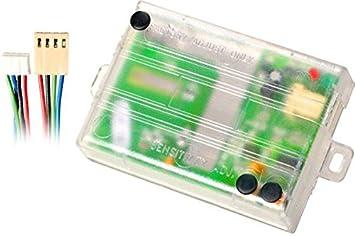 DIRIGIDO instalar esenciales 508d del sensor de movimiento de zona doble