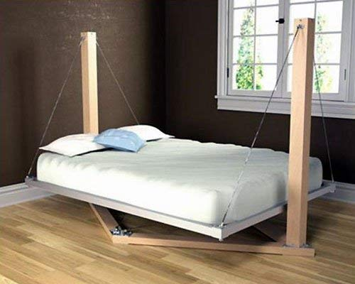 Wooden Unfinished Swing Bed Choose Size, Requires Assembly