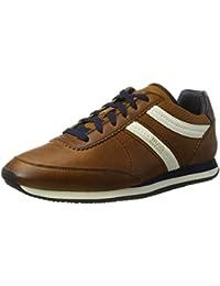 Boss Orange Adrenal Runn Mens Sneakers Brown