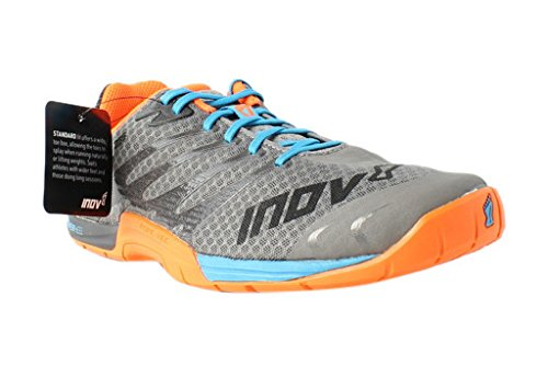 Inov-8 Men's F-Lite¿ 235 Grey/Blue/Orange 13 W UK Standard Fit (Wide)