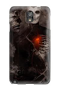 High Quality KarenStewart Weird Skin Case Cover Specially Designed For Galaxy - Note 3