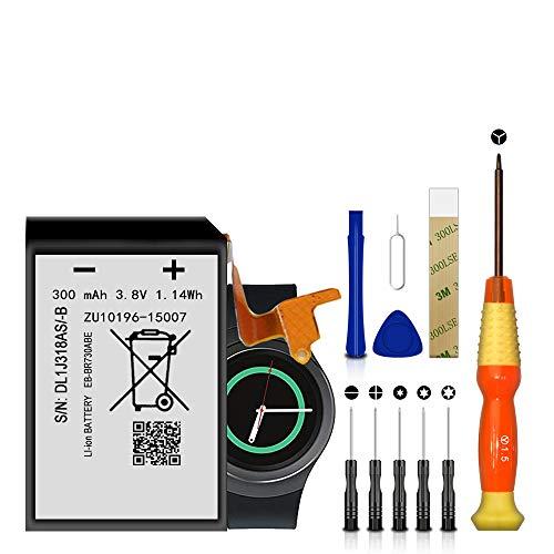 Bateria para Galaxy Gear S2 Classic SM-R735V R730,R730A,R600
