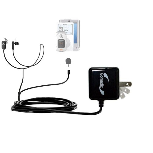 (Gomadic Multi Port AC Home Wall Charger designed for the Jaybird Freedom Sprint - Uses TipExchange to charge up to two devices at once)