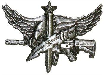 SWAT Senior Operator Pin - Antique Silver