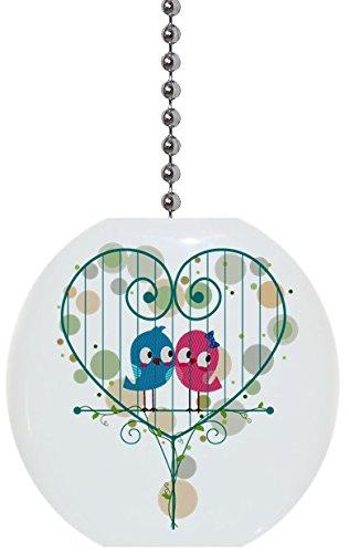 birds heart cage solid ceramic