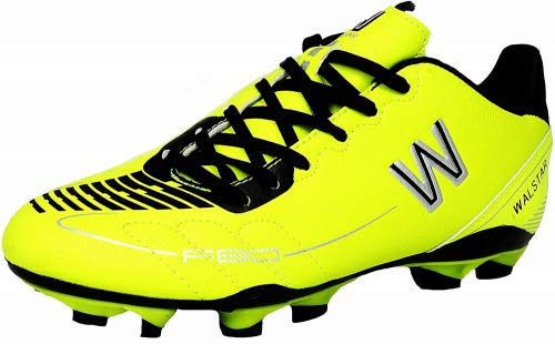 Star f80 Jr Soccer Shoes, Cleat Lime/Black (2.5)