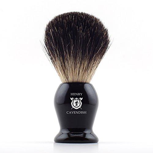 Henry Cavendish Gentleman's 100% Pure Badger Hair Shaving Brush....