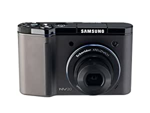 Samsung Digimax NV20 12MP Digital Camera with 3x Advanced Shake Reduction Optical Zoom (Black)
