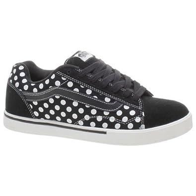 Vans Dollin No Skool Black White Polka Dots Shoe 49776 (UK7)  Amazon ... cc681439d