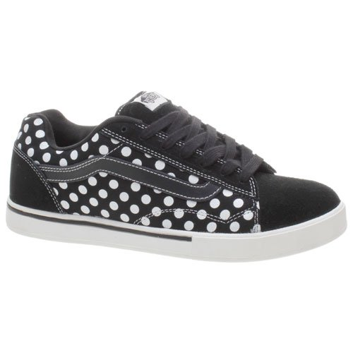 Vans Dollin No Skool Black White Polka Dots Shoe 49776 (UK7)  Amazon.co.uk   Shoes   Bags b5b4823a2