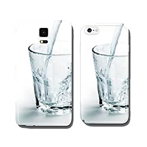 glass of water cell phone cover case iPhone5