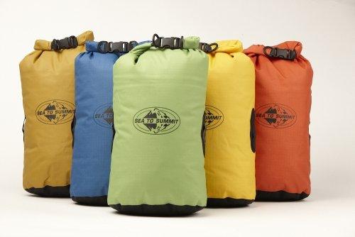 Sea to Summit Erwachsene Big River Drybag 8L, Grün, Volumen 8 Liter, 420D Ripstop Nylon, Tpu Laminat, Hypalon Schlaufen Packsäcke, Mehrfarbig, One Size