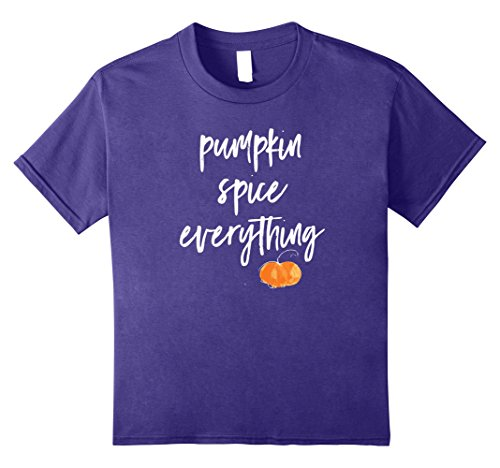 Kids Pumpkin Spice Everything Popular Halloween Costume Idea 12 Purple