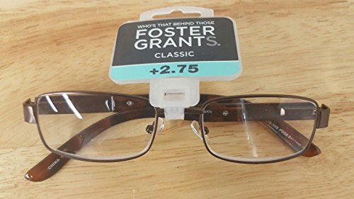 Foster Grant Reading Glasses Harry Brown +2.75