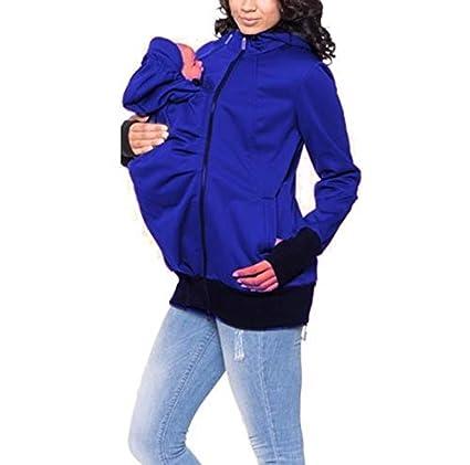 Ayamababy Canguro Madre Multifuncional, suéter de otoño e ...