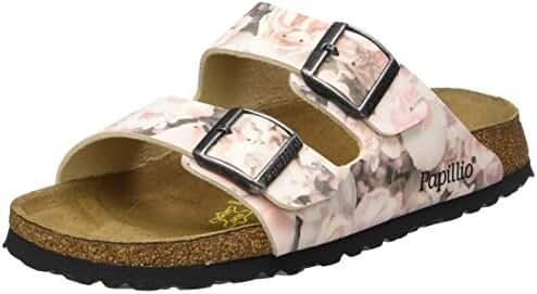 Birkenstock Women's Arizona 2-Strap Cork Footbed Sandal - Narrow Pink 37 N EU