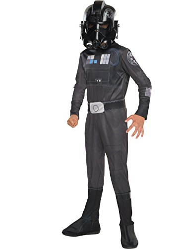 Costumes Ideas Beginning With M (Rubie's Costume Star Wars Rebels Tie Fighter Pilot Child Costume, Medium)