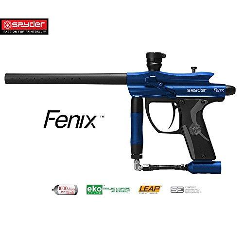 MAddog Spyder Fenix Electronic Paintball Gun - Blue (Best Electronic Paintball Gun Under 200)