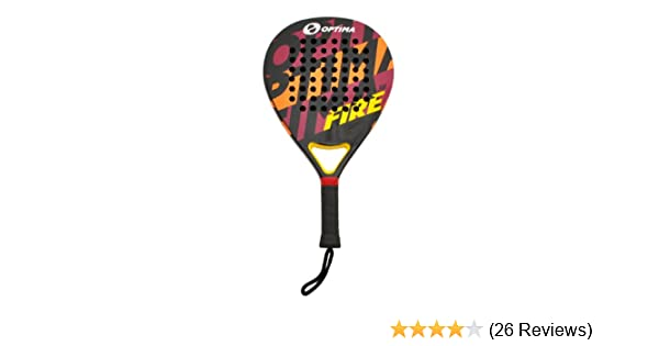 Amazon.com : Optima FIRE Carbon Beach Platform Tennis Paddle ...