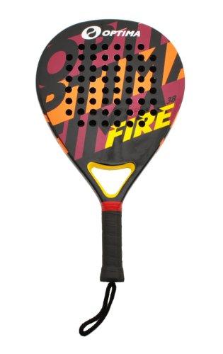 Optima FIRE Carbon Beach Platform Tennis Paddle - Padel Raquet