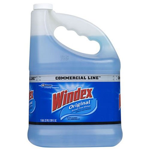 S C JOHNSON 12207 Windex Gallon Pro Refill