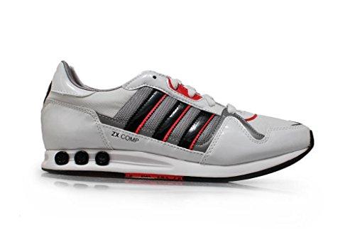Da donna Adidas–ZX Comp–Bianco Rosa in alluminio nero, g64375