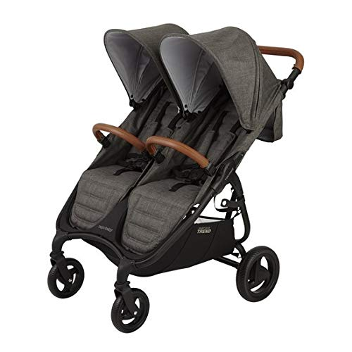 Valco Baby Snap Duo Trend Stroller - Charcoal - Valco Baby Stroller Newborn