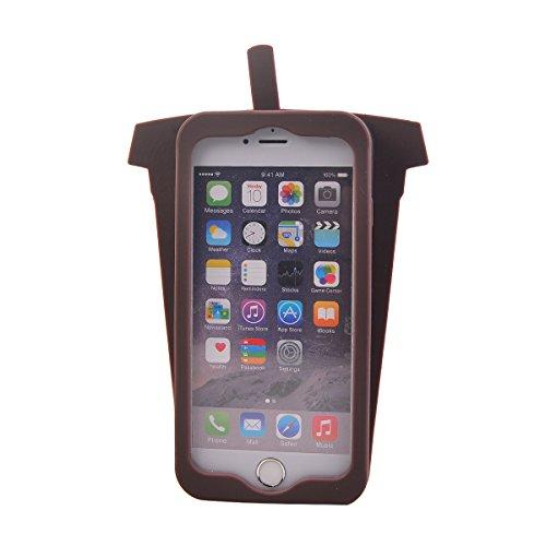 COOLKE Moda 3D Lovely Cartoon Suave Silicona Funda Carcasa Tapa Case Cover para Apple iPhone 6 6s (4.7) - 020 006