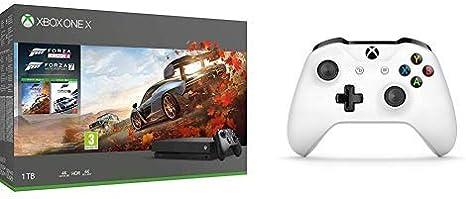 Microsoft Xbox One X - Consola 1 TB + Forza Horizon 4 Y Forza ...