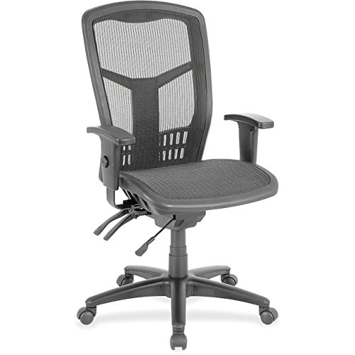Lorell Executive Mesh High-Back Chair, Black by Lorell