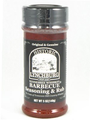 Historic Lychburg Tennessee Whiskey Barbecue Seasoning & Rub (12 Pack)
