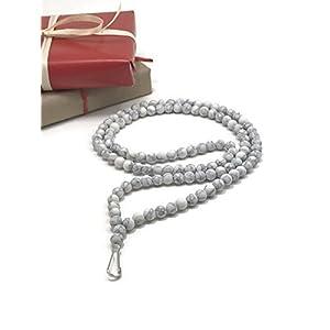 Lanyard by WestMarketDesign   Howlite Beads, Custom Teacher Lanyards, Badge Holders,   Howlite Stone Fashion for Less   Perfect Boho ID Holder Gift