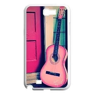 Guitars Samsung Galaxy N2 7100 Cell Phone Case White piv xfyq