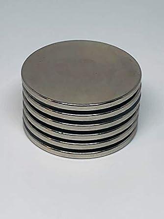 Ace Power imanes de neodimio, pack de 6 N52 tierras raras, imanes súper fuertes, 3,81 cm x 2,03 cm, permanentes, bricolaje, oficina, ciencial, manualidades, nevera: Amazon.es: Amazon.es