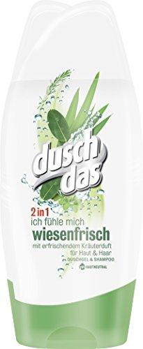 Duschdas Duschgel Wiesenfrisch, Doppelpack (2 x 250 ml)