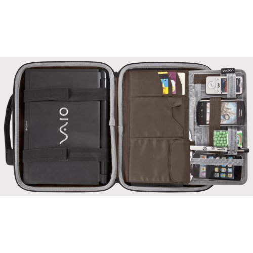 Cocoon Murray Hill cns34010.2Koffer rot–Taschen von Laptops (25,9cm (10.2), Koffer, rot, 925G, 280x 35x 200mm, 305x 83x 235mm)
