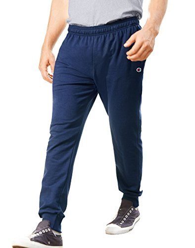 Champion Men's French Terry Jogger, Champ Navy, Medium
