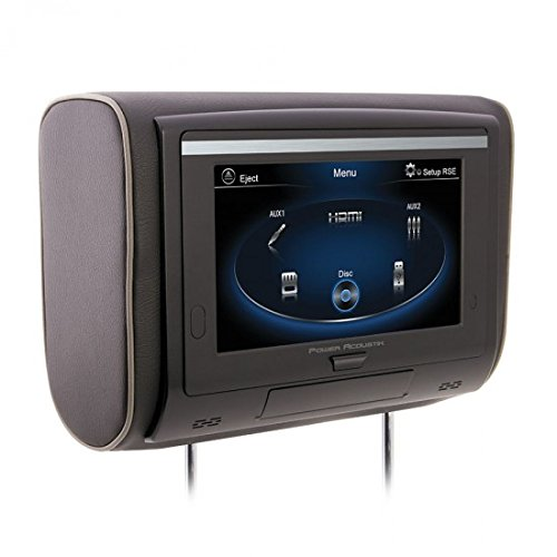 Power Acoustik HDVD-94T Universal DVD Headrest With 9