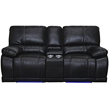 Amazon Com New Classic Electra Dual Recliner Console