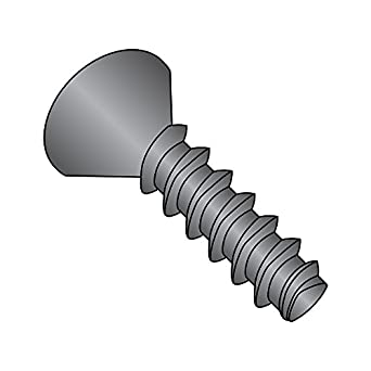 Steel Thread Rolling Screw for Metal 3//4 Length Pack of 50 Pan Head Black Oxide Finish Star Drive #10-24 Thread Size