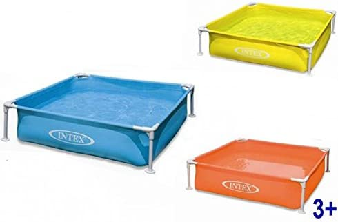 Intex Piscina infantil 122 x 122 x 30 cm 337 lt.: Amazon.es ...