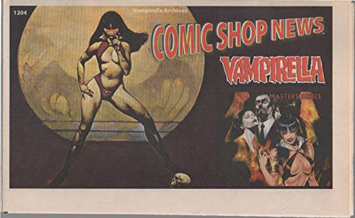 - Comic Shop News, no. 1204 (2010) (cover: Vampirella Masters Series): Batman Beyond, Fantastic Four: Ataque del Modok, Haunted Tank, with Spider-Man comic strip featuring Iron Man, Puppet Master