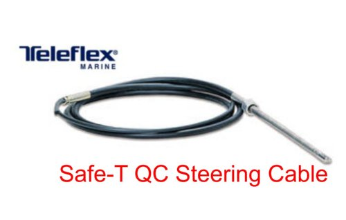 (Dometic SeaStar Quick Connect Rotary Steering Cable, SSC6209, 9ft.)