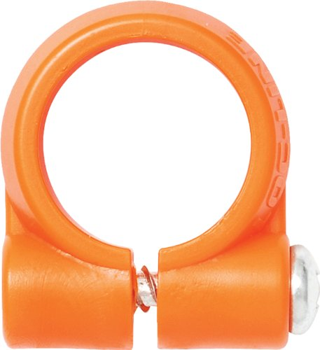 Loc-Line Coolant Hose Component, Acetal Copolymer, Element Clamp with Screw, 1/4 Hose ID (Pack of 4)