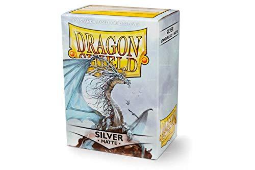 (Arcane Tinman Sleeves: Dragon Shield Matte Silver, One Size AT-11008)