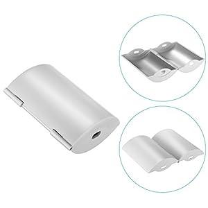 Neewer Folding Aluminum Parabolic Antenna Range Booster for DJI Phantom 4 Phantom 3 Pro/Advanced Inspire 1 Controller Transmitter Signal Extend (Silver)